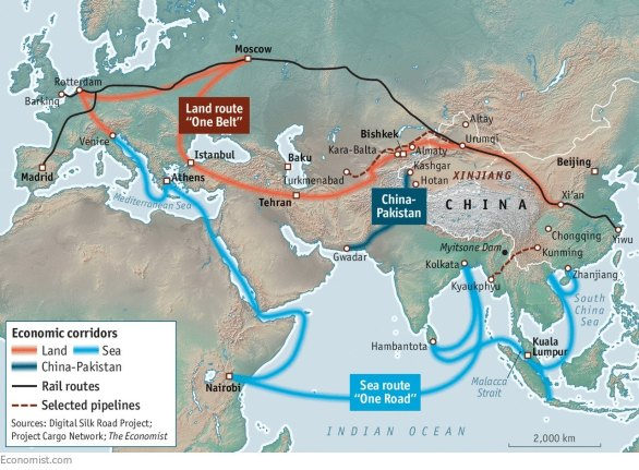 one-belt-one-road-map