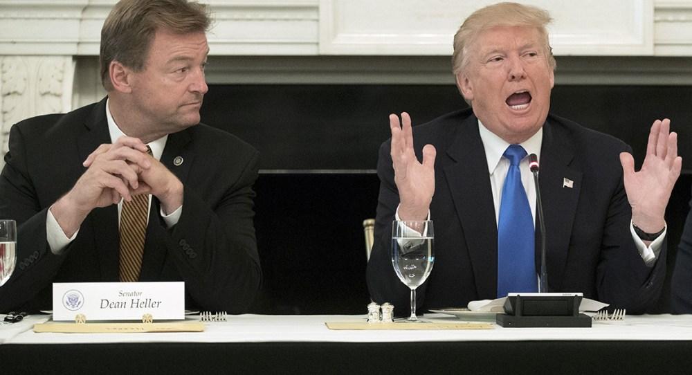 Trump e Heller