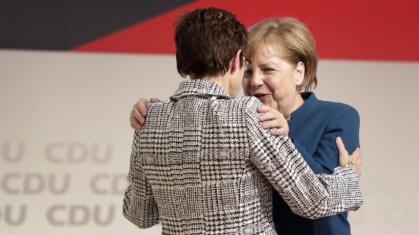merkel kramp-karrenbauer