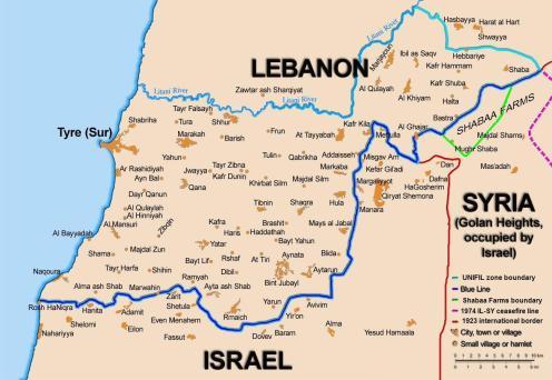 Cartina Politica Del Libano.Peacekeeping In Libano La Missione Unifil Italiana Lo Spiegone
