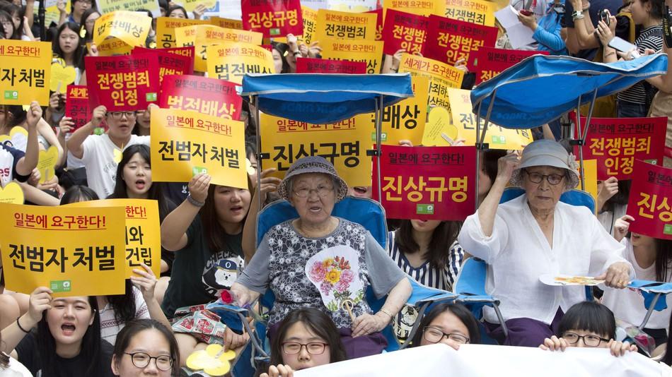 Comfort Women - protesta 3