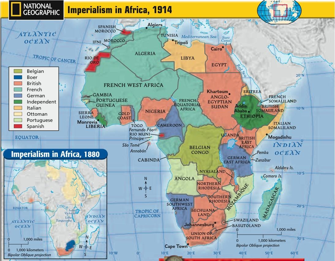 Imperialism Africa 1914