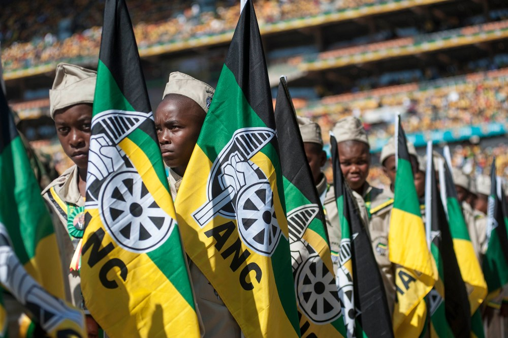 South Africa elections ANC rally