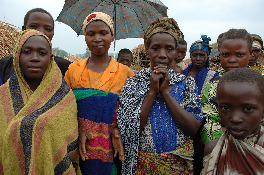 People displaced from Katwiguru