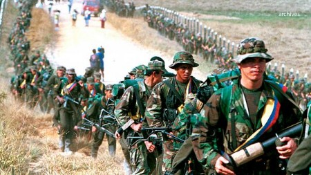 Marcia guerriglieri FARC