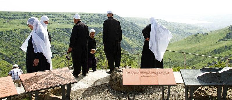 800px-Israeli_Druze_in_Gamla