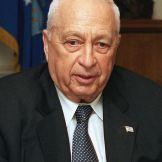 Ariel Sharon, 2002. Fonte: Wikimedia Commons