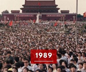 Ricorda 1989: la strage di Piazza Tian'anmen