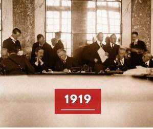 Ricorda 1919: La Conferenza di pace di Versailles
