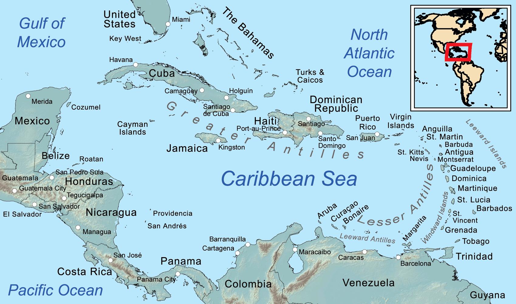 Caraibi Inglesi