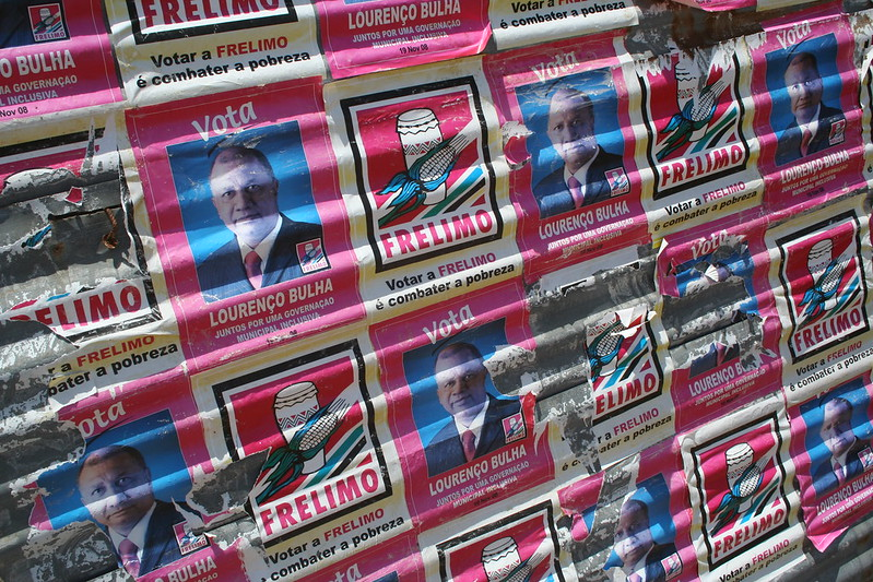 Manifesto elettorale Frelimo