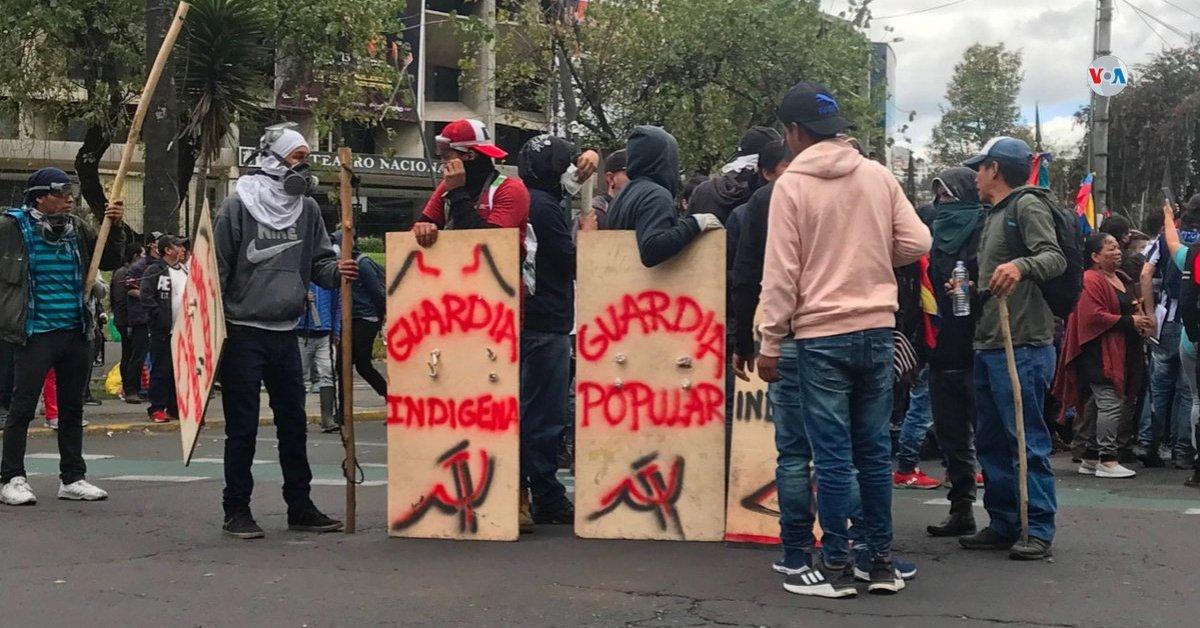 Proteste Ecuador