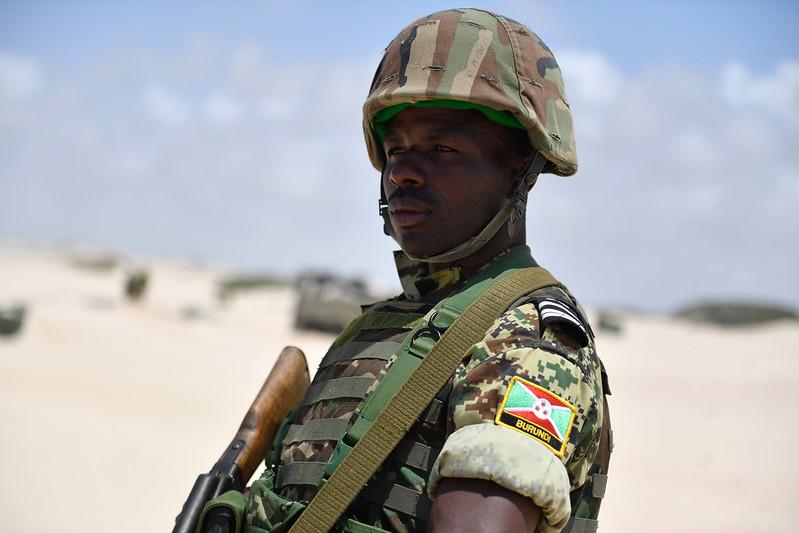 Soldato Burundi AMISOM