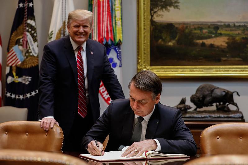 19/03/2019 Encontro com o Senhor Donald Trump, Presidente dos Es