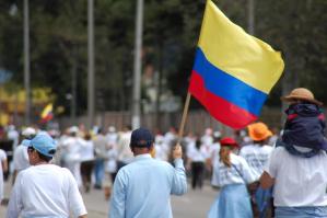 proteste Colombia