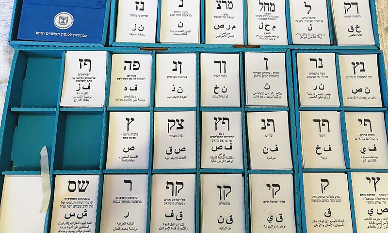 Elezioni Israele 2019