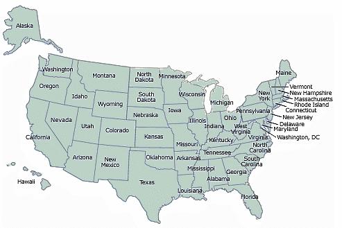 geografia delle disuguaglianze USA