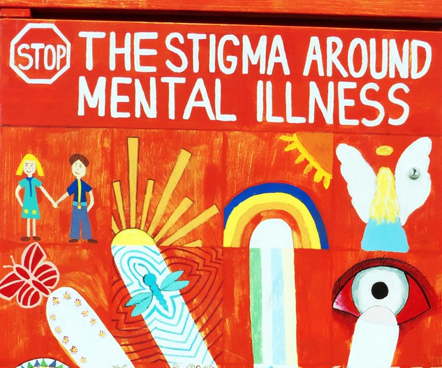 salute mentale murales mente salute diritto