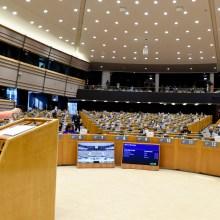 Ursula von der Leyen tiene il discorso sullo stato dell'Unione di fronte alla plenaria del Parlamento.