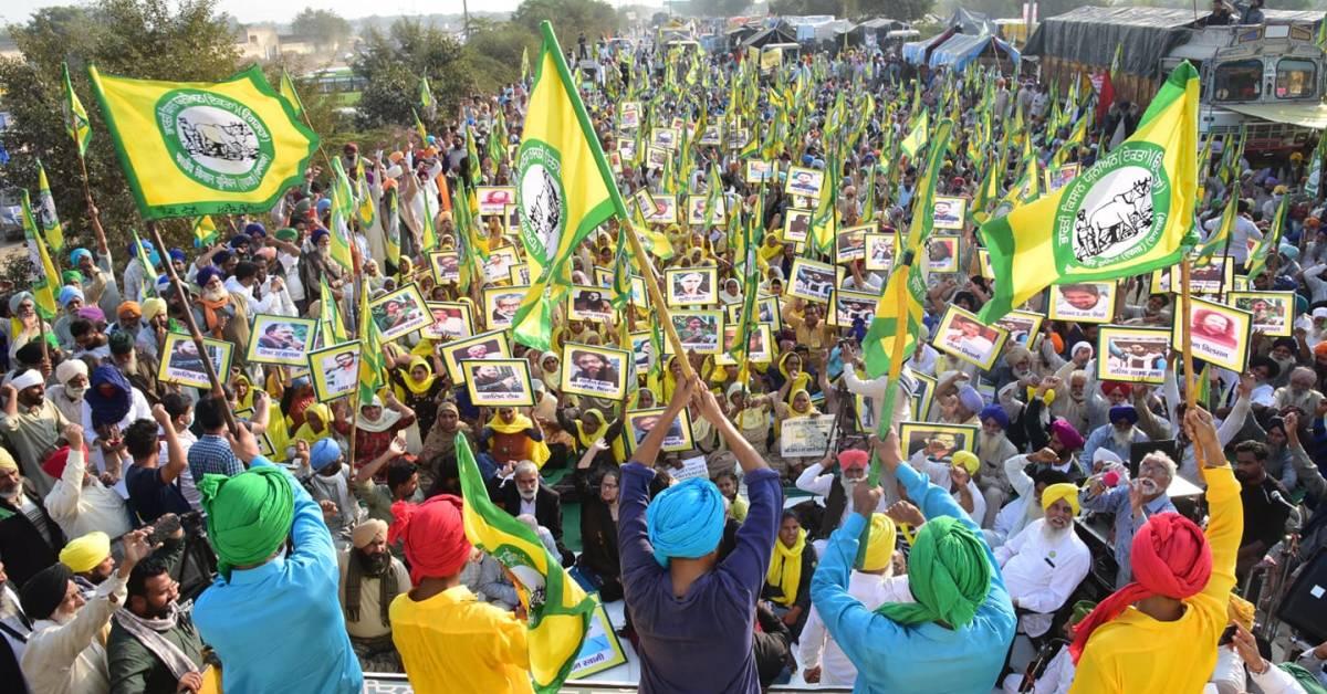 Le proteste degli agricoltori in India