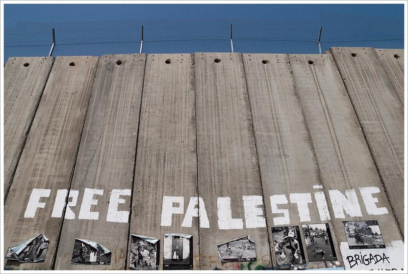Il muro di Israele a Betlemme. Uno scatto dalla Palestina del 2011