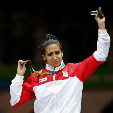 Ines Boubakri un ejemplo para las mujeres árabes en Río
