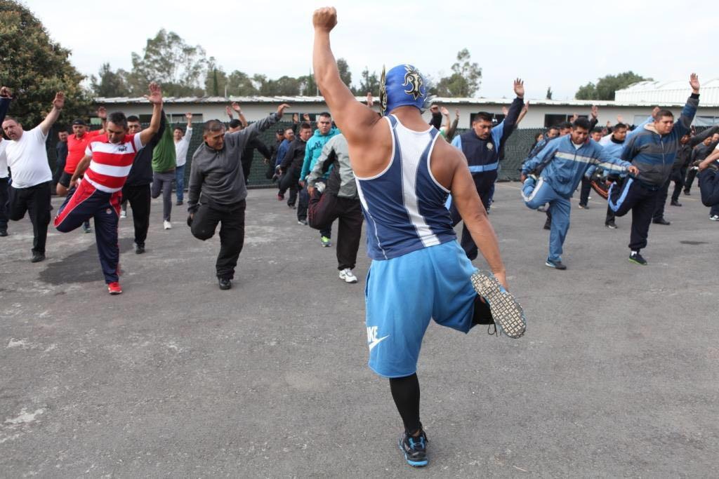 lucha libre Iztapalapa Policía