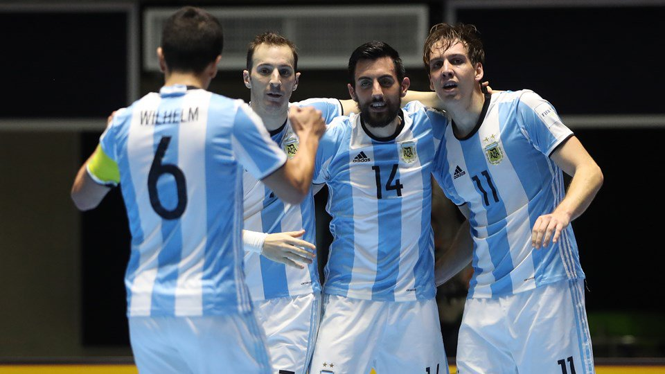 Argentina Mundial de Futsal