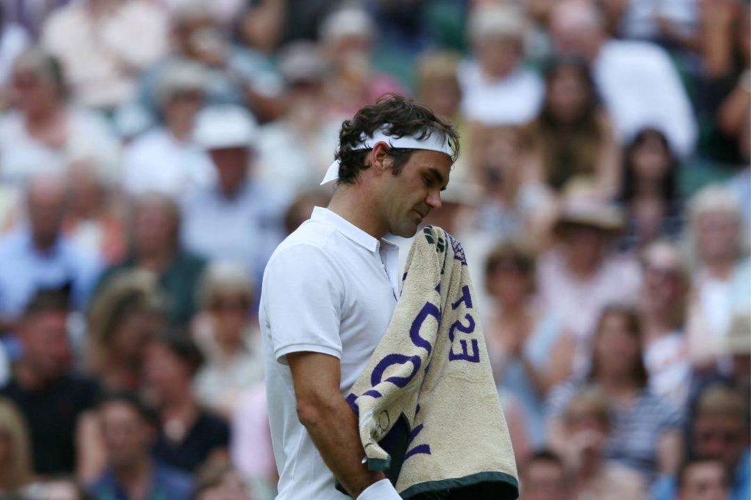 roger federer loses against milos raonic wimbledon 2016 semifinals men, 644/cordon