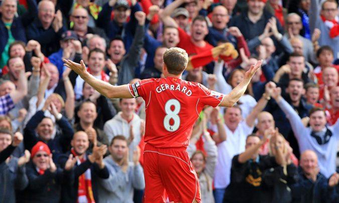 Steven Gerrard Anfield
