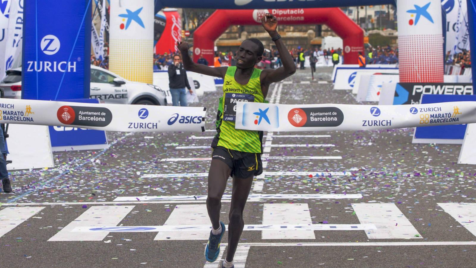 Jonah Kipkemoi atleta paralímpico maratón Barcelona