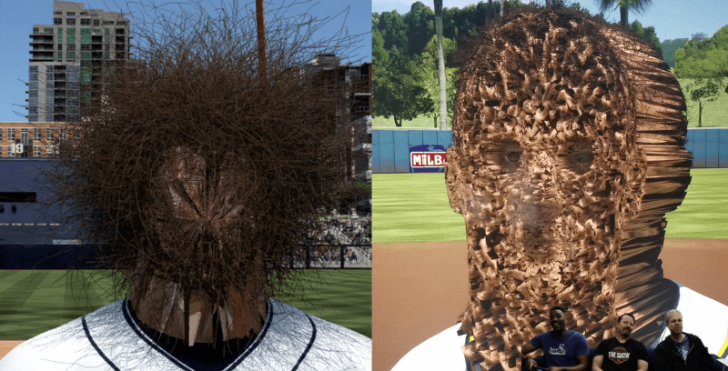 MLB Videojuego error terror