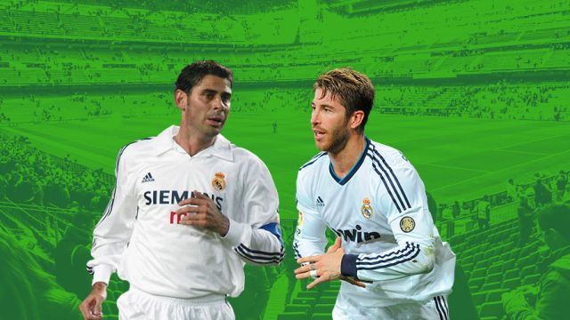 Sergio Ramos Fernando Hierro defensa Real Madrid