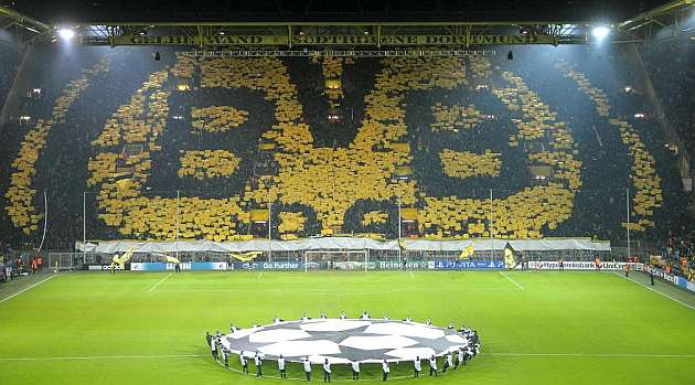 Borussia Dortmund Explosión Champions League