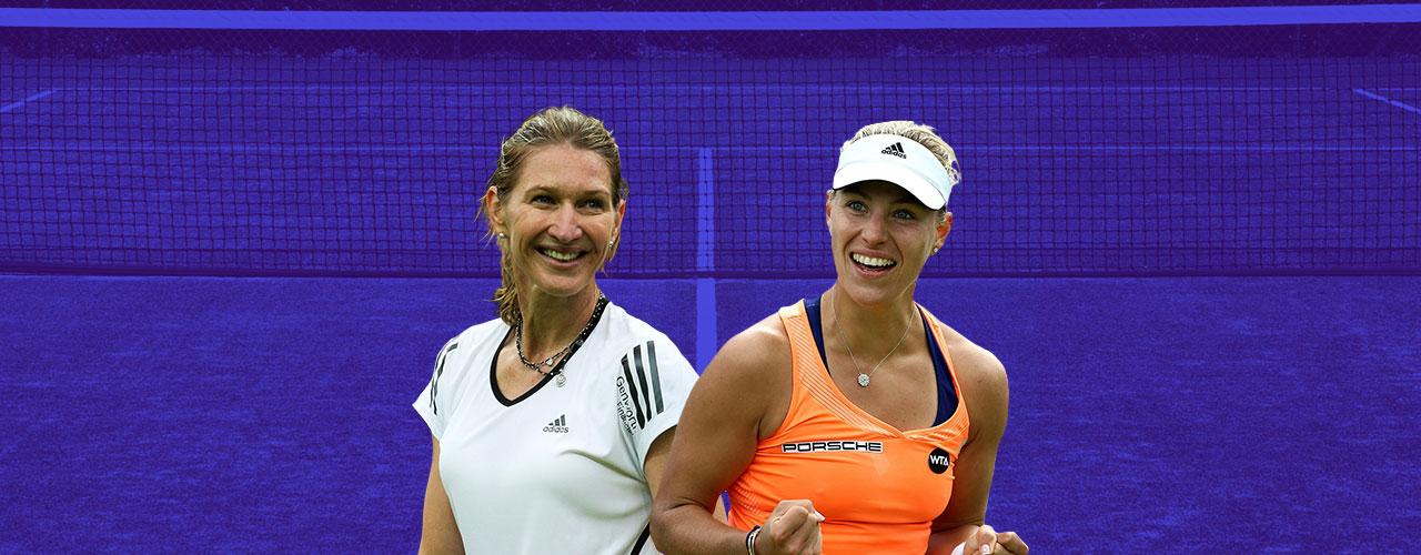 Angelique Kerber Steffi Graf Alemania tenis heredera