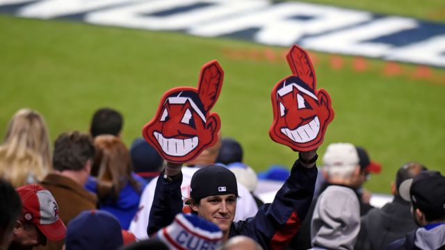 Chief Wahoo logotipo Cleveland Indians