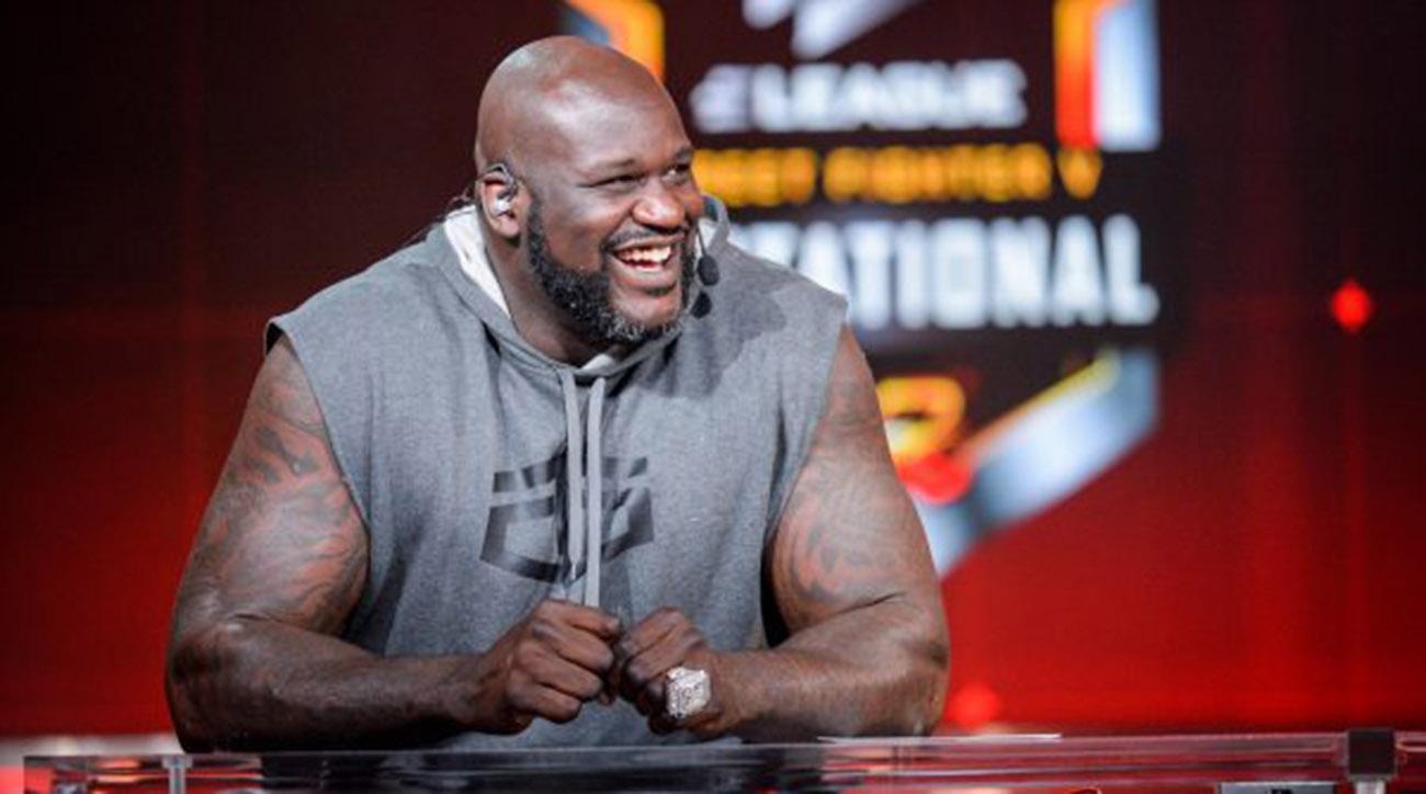 Street Fighter Videojuego Shaquille O'Neal