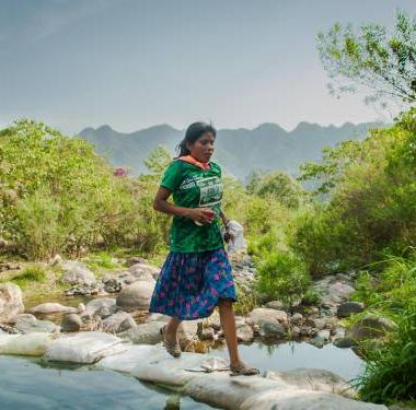 Indígena Rarámuri Ultramaratón Ganadora