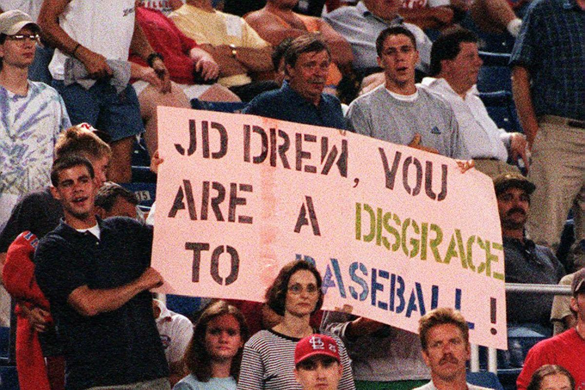 JD Drew Filadelfia Hooliganismo