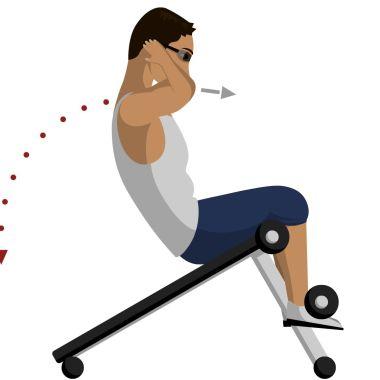 Nunca hagas este ejercicio de abdominales, es peligroso