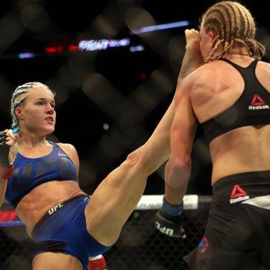 Accidente UFC Justine Kish Felice Herrig