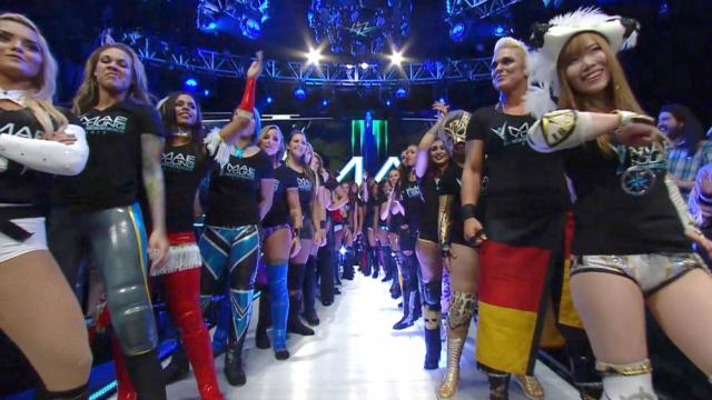 WWE, Mae Young Classic, Equidad, Genero