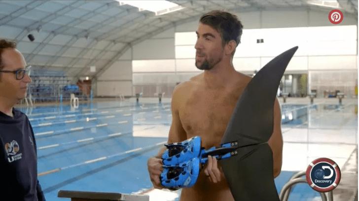 Michael Phelps Discovery Channel Tiburón olímpico