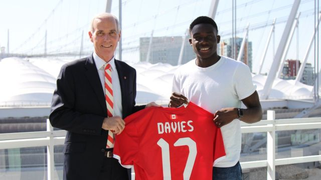 Copa Oro, Alphonso Davies, Canadá, 16 años, Figura, Revelación, récord, selección absoluta, Whitecaps, MLS