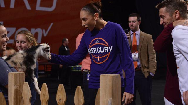 WNBA Diana Taurasi cabras basquetbol Phoenix