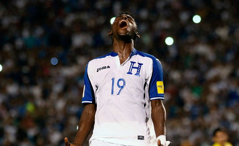 Alberth Elis Honduras Copa oro