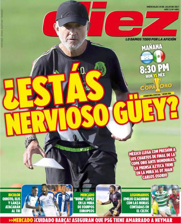 Juan Carlos Osorio, México, Honduras, Copa Oro, rotaciones, burla