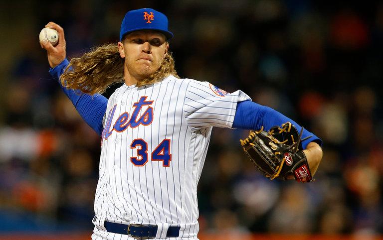 Noah Syndergaard Game of Thrones Pitcher New York Mets