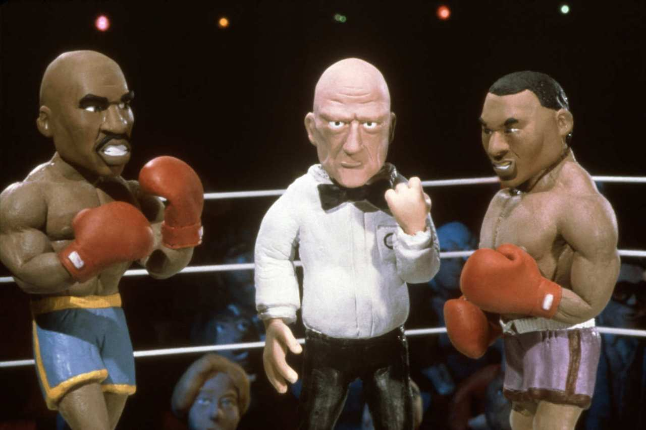 MTV Celebrity Deathmatch Lucha Libre WWE Tyson