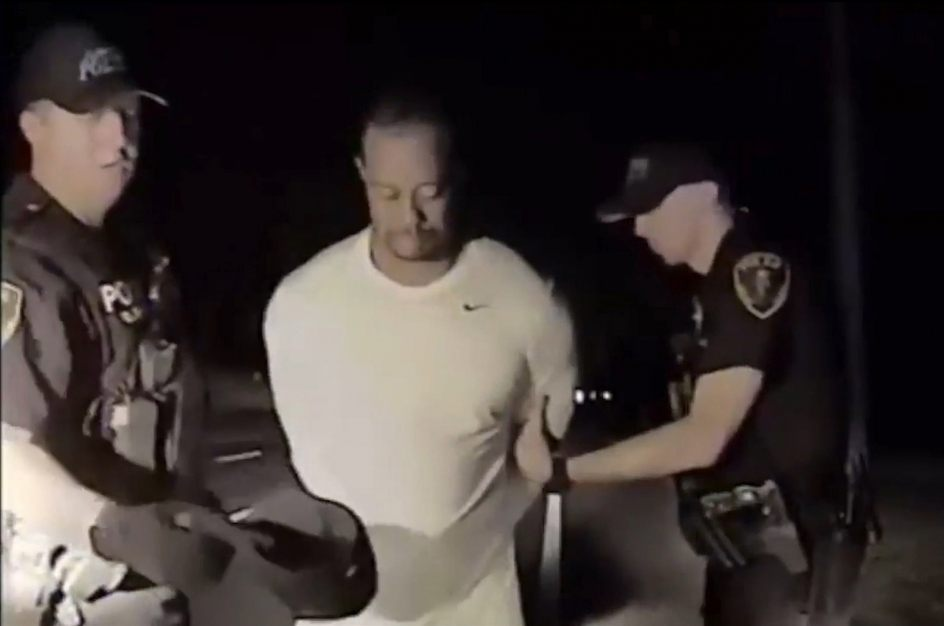 Tiger Woods medicamentos arrestado video marihuana